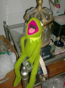 """Best Offer: 1976 Fisher Price """"KERMIT THE FROG"""" 20"""" VELCRO DOLL"""