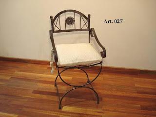 Herreria artistica torres sillas y sillones for Sillas para jardin de herreria