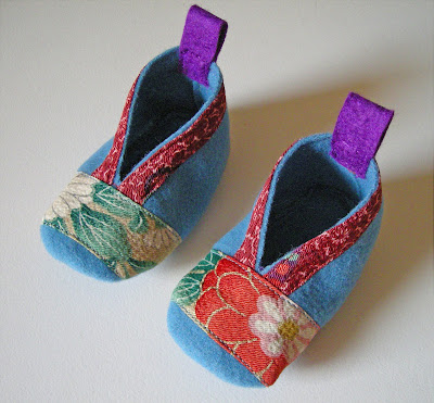 Bitty Booties by Heather Bailey: Free pattern to download and