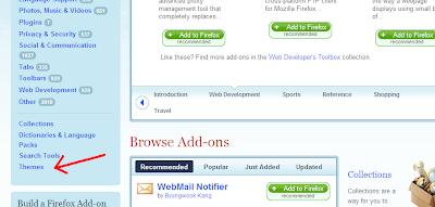 Cara Mengganti Theme Mozilla Firefox