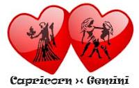 Asmara Capricorn dengan Gemini