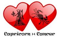 Asmara Capricorn dengan Cancer