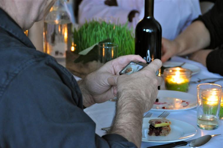 Oatmeal bread, smoked foie & figs...photo worthy