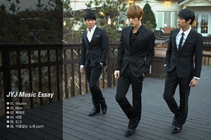 ... Idols Pre-orders: Pre-order JYJ Music Essay - Their Rooms