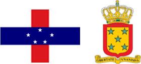 Antiilas Neerlandesas: Bandera y Escudo