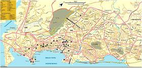 Mapa Ciudad de Panamá, Panamá