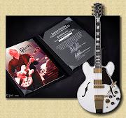 . estaria lançando em breve uma guitarra Gibson ES355 signature edition.