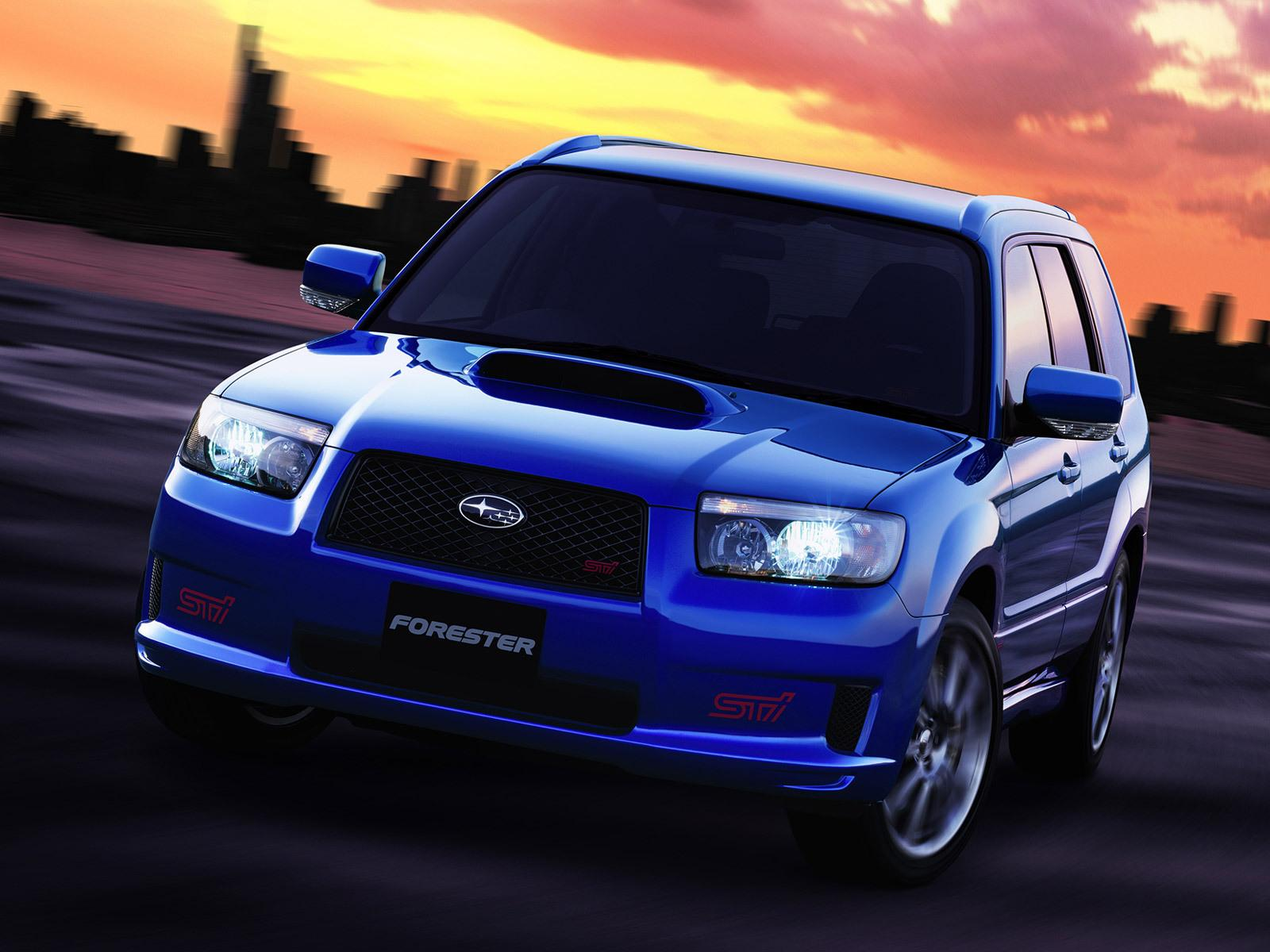 Pimped Subaru Forester >> Road Car Pictures: 2005 Subaru Forester STI