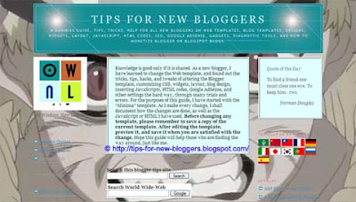 Background Image for Blogger Template