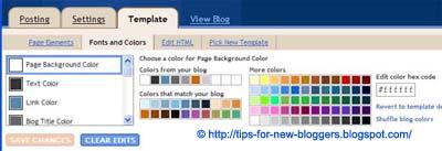 Background Image for Blogger Header