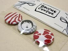 Kit de pins Bouche cousue