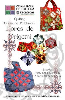 CURSO DE FLORES DE ORIGAMI