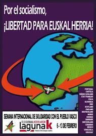 SEMANA INTERNACIONAL DE SOLIDARIDAD CON EL PUEBLO VASCO
