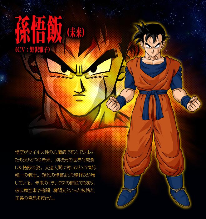 dragon ball z future gohan