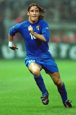 Francesco Totti,leyenda vivienta del Roma.