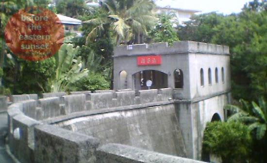 Great Wall in Taoist Temple, Cebu City