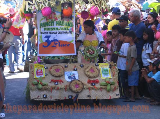 Pancit Habhab Cart in Pahiyas Festival