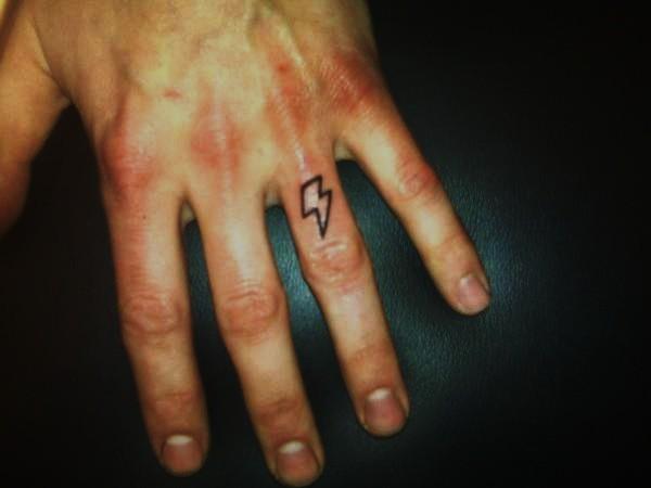 lighting bolt tattoos. Tattoo; Lightning Bolt on