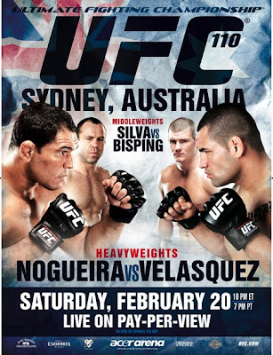 Watch UFC 110 Live Stream