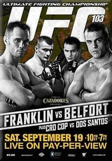 UFC 103 Franklin vs Belfort Live Stream