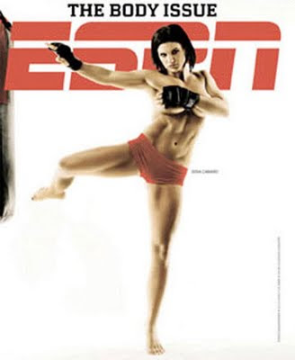 Gina Carano ESPN Body Issue Pictures