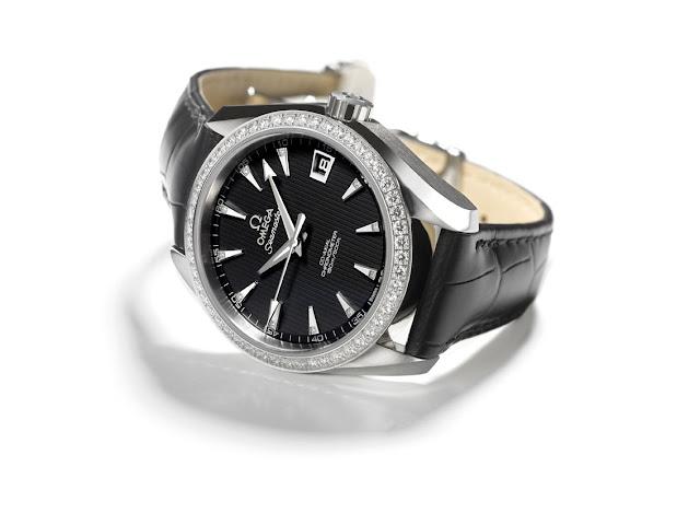 OMEGA Seamaster Aqua Terra Jewellery Co-Axial 38.50 mm leather