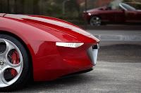 Alfa Romeo Spider designed by Pininfarina (2uettottanta) front detail