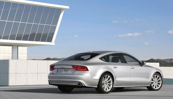 The New Audi A7 Sportback (2010) back