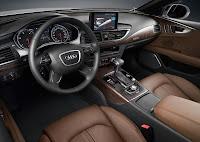 The New Audi A7 Sportback (2010) interior
