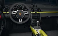 Porsche Cayman R dash