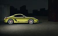 Porsche Cayman R side