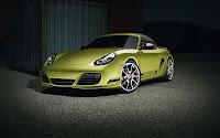 Porsche Cayman R front side