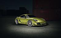 Porsche Cayman R front side (b)