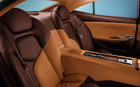 Fisker Karma back interior