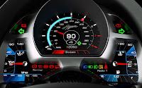 Koenigsegg Agera Super Car dash