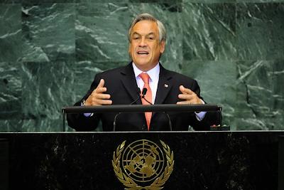 Piñera afirma que Chile se convertirá en la segunda economía de Latinoamérica