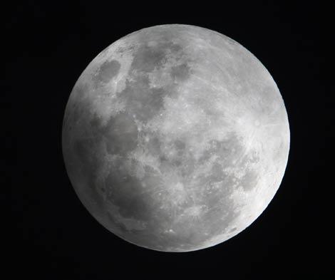 ¿Como se formo la Luna?