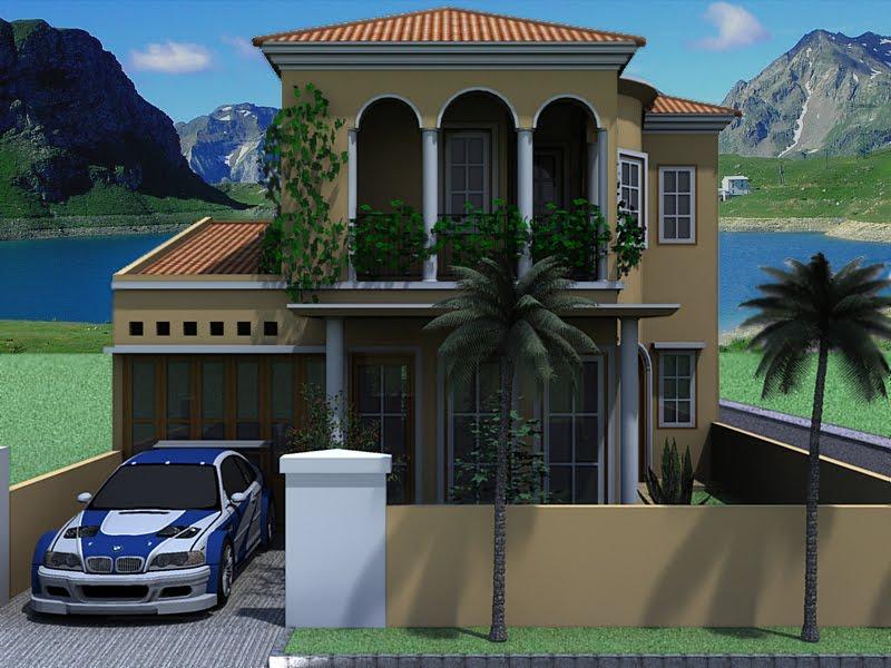 rumah bergaya minimalis ala roman rancangan rumah dan