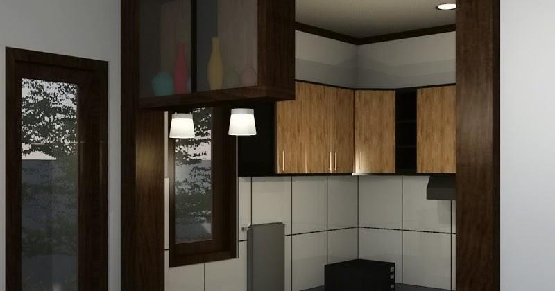 desain interior dapur dengan konsep minimalis rancangan