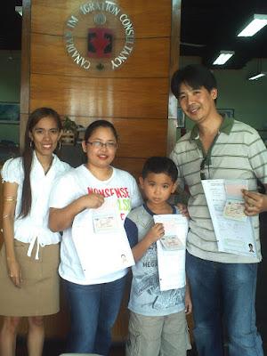 Canada Visa - Perez Family