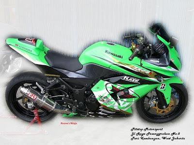 Photo of Kawasaki 250cc Modifikasi