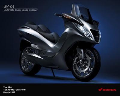 2006 Honda Bike Concept E4-01
