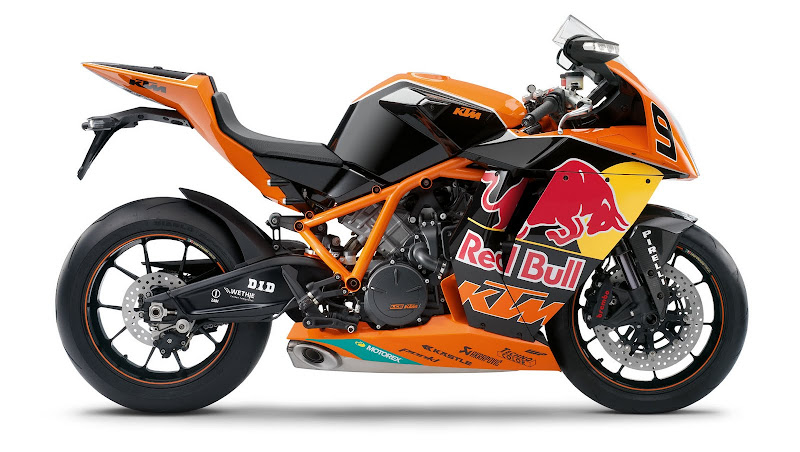 Red Bull Limited Edition KTM 1190 RC8R 2010