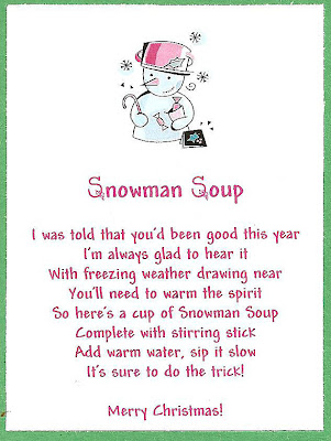 Snowman Soup...