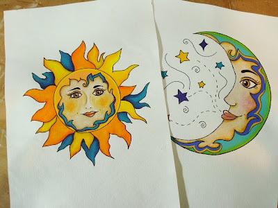 Altered Alchemy Sun Moon Take 2