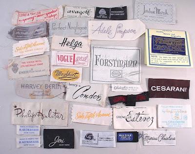 Couture Allure Vintage Fashion Beware of Fraudulent Label