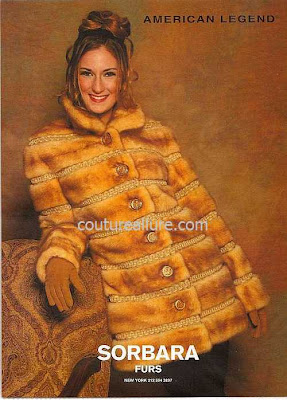 American Legend fur coat Celine Dion