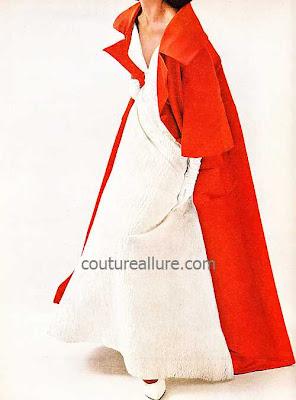 vintage opera coat, Bergdorf Goodman