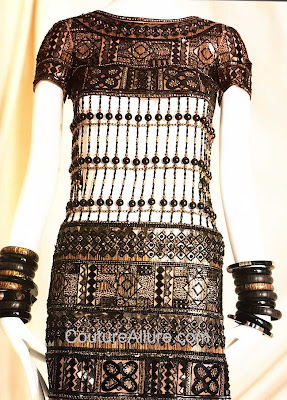 yves saint laurent, Africa dress, 1967