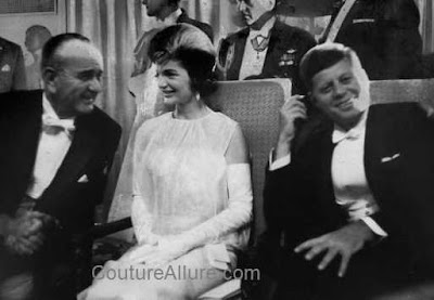 Jackie Kennedy Fashion Pics on Couture Allure Vintage Fashion  Jacqueline Kennedy Inaugural Ball Gown